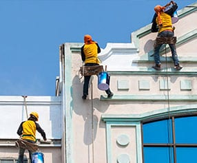 commercial exterior maintenance painting